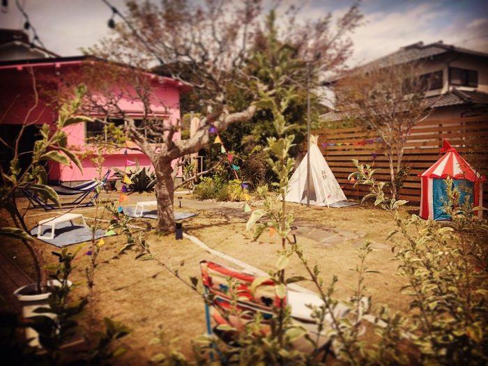 カフェ楓荘 庭