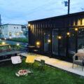 フルオーダーのおしゃれコンテナハウスを自宅の庭に設置 価格や値段について